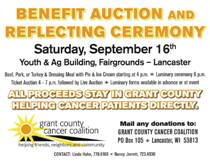 Benefit Auction and Reflecting Ceremony